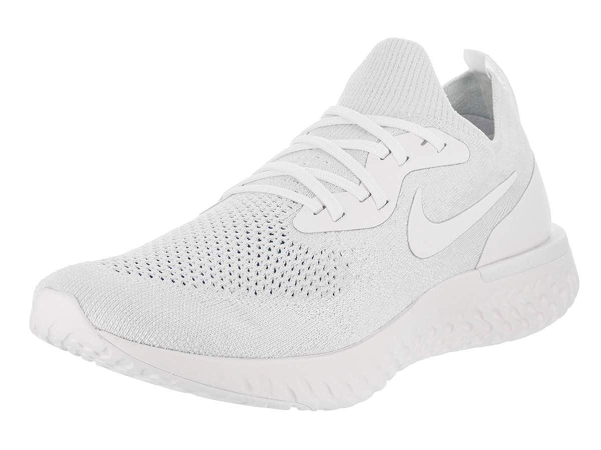 Mehrfarbig (True Weiß Weiß Pure Platinum 102) Nike Herren Epic React Flyknit Fitnessschuhe