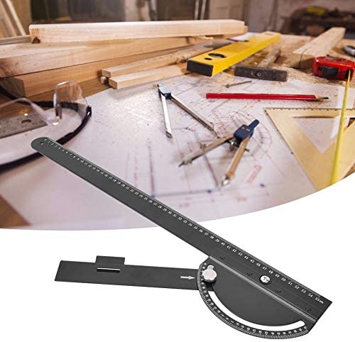 Practical Steel Guide Ruler, Multifunctional Ruler, for Woodworking Woodworker Supplies Construction Carpentry Supplies