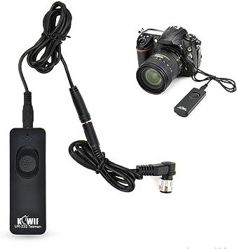 Control Remoto Temporizador LCD JJC para Nikon D850 D810 D800 D700 D500 D300s D300 D200