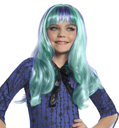[Monster High Twyla Wig] (Blue Bull Mascot Costume)