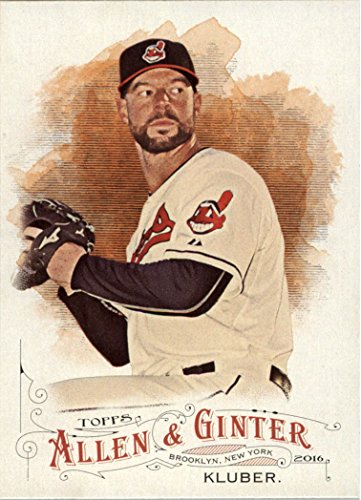 (2016 Topps Allen and Ginter Baseball #297 Corey Kluber Cleveland Indians )