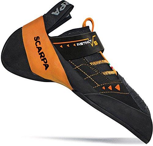 Instinct Climbing VS Orange SCARPA Men's Shoe Black 5qZOwttpxz