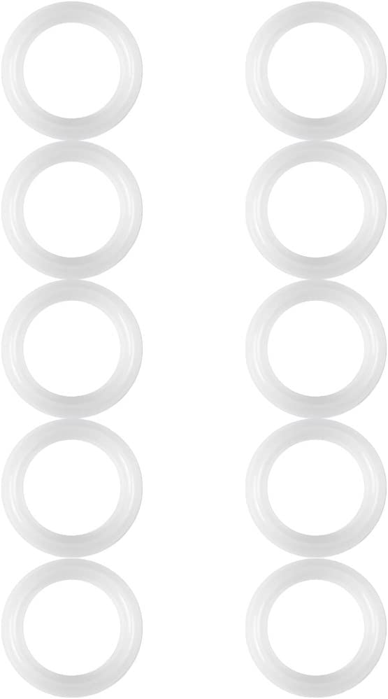 10pcs Food Grade Silicone Gaskets Seals Rings 1.5