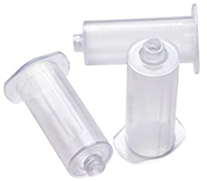 MCK48152800 - Becton Dic Tube Holder BD Vacutainer Standard Size, Clear, Non-Stackable, Single Use, 250 / Shelf Pack For 13 mm and 16 Diameter Tubes
