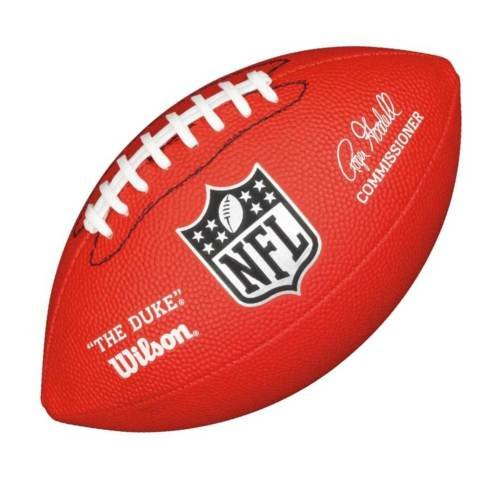 MINI AMERICAN FOOTBALL RED NFL APPROVED WILSONS