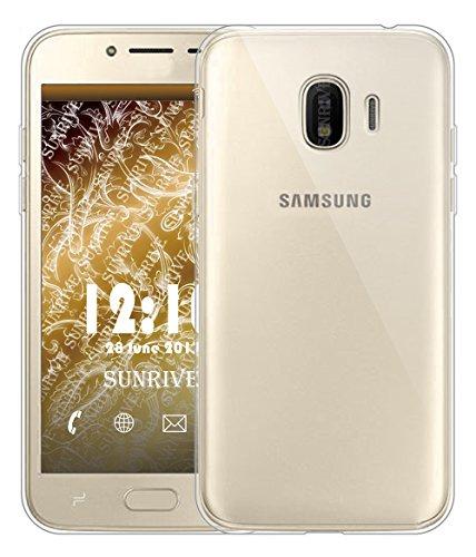 Funda Para Samsung Galaxy Grand Prime Pro (2018), Sunrive Silicona Funda Slim Fit Gel Transparente Carcasa Case Bumper de Impactos y Anti-Arañazos Espalda Cover(tpu Unicornio 2)+1 x Lápiz óptico tpu No hay un patrón