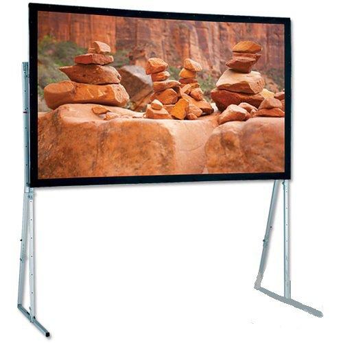(Ultimate Folding Cineflex Portable Projection Screen Viewing Area: 10' 6