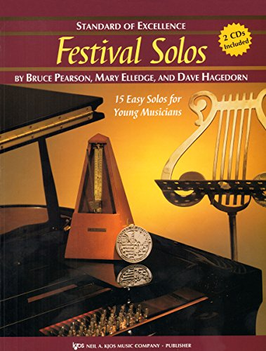 W28HF - Standard of Excellence - Festival Solos Book/CD - French Horn (Book Solos Horn)