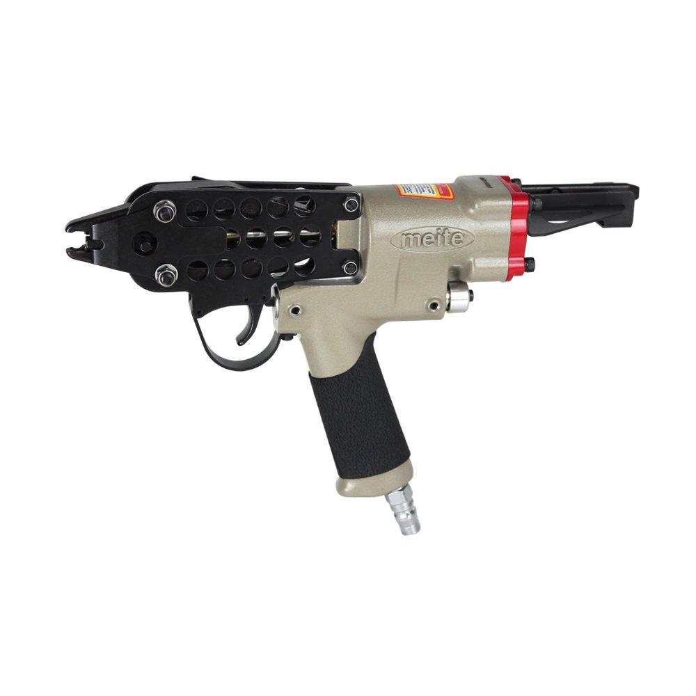 meite SC760B 16 Gauge 1/2-Inch C-Ring Gun Hog Ring Tool Closure Pneumatic Tool for Mattress by meite