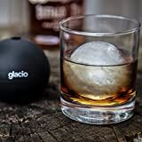 glacio Large Silicone Ice Sphere Mold - Round Ice Cube Mold - Makes 2.5 Inch Ice Balls (4-Pack)