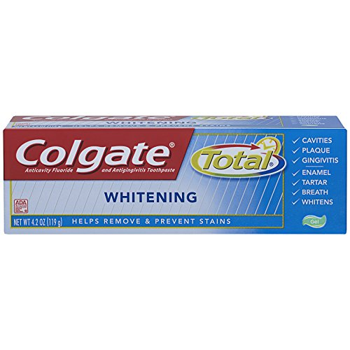 Colgate Total Whitening Toothpaste ounce