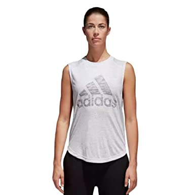 95b17487c54c4 adidas Womens Winner Muscle Tank Top at Amazon Women s Clothing store
