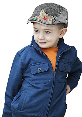 Scottish Costume Golf (Kids Baby Toddler Fashion Star Baker Boy Newsboy Flat Peaked Cap Beret Ivy Cabbie Driver Cap Hat for Child Age)