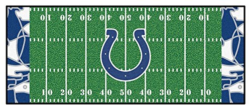 Indianapolis Colts 30 x 72 Football Field Rug