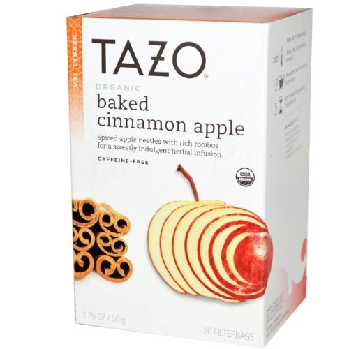 Tazo Organic Baked Cinnamon Apple Herbal Tea 20 Bags (Pack Of 6) - Pack Of 6