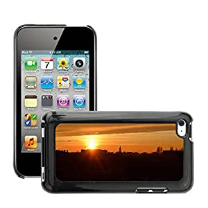 Hot Style Cell Phone PC Hard Case Cover // M00308602 Italy Sun Landscape // Apple ipod Touch 4 4G 4th