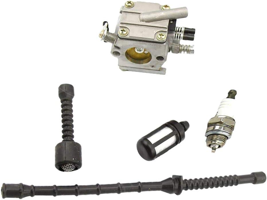 Mower Replacement Parts Engine Parts FLAMEER Carburetor Fuel ...