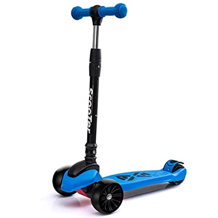 Scooter Patinete Plegable con Rueda iluminada, Ajustable ...