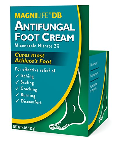 Magni Life DB Antifungal Foot Cream, 4 Ounce (Cream Borage Foot)