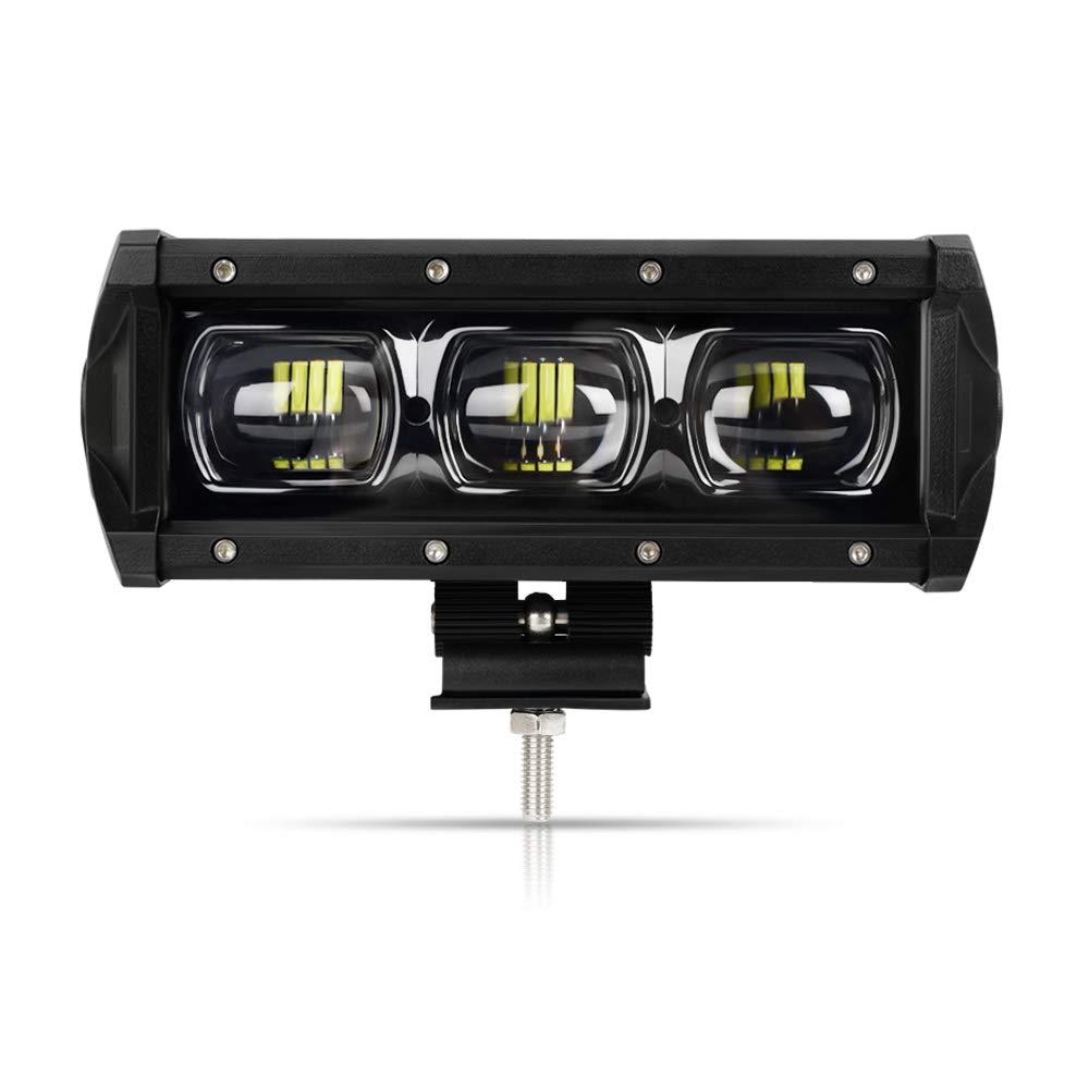 Todoterreno Camion Focos LED de Trabajo 2 a/ños de Garant/ía YEEGO Faro de Trabajo Foco LED 12v Quad Luces Antiniebla Impermeable y Potente para Coch Tractor 4x4