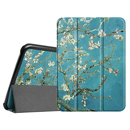 Fintie Slim Shell Case Compatible with Samsung Galaxy Tab 4 10.1 (10-Inch) / Tab 4 Nook 10.1- Ultra Lightweight Protective Stand Cover with Auto Sleep/Wake Feature, Blossom ()