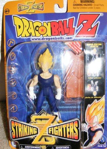 "Dragonball Z - Striking Z 5"" SS VEGETA ACTION FIGURE - IR..."