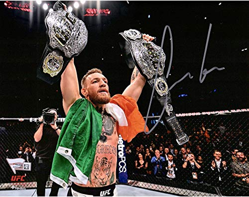 Conor McGregor Ultimate Fighting Championship Autographed 8