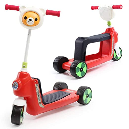 XINCH Andador para bebés, triciclos para niños Multiusos Scooter ...