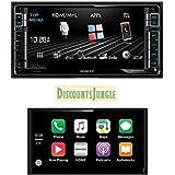 Kenwood DMX750WBT Multimedia 2-DIN Car Stereo Receivers USB/MP3/WMA/Bluetooth/HDMI/MHL 6.25 Apple car play Mirroring