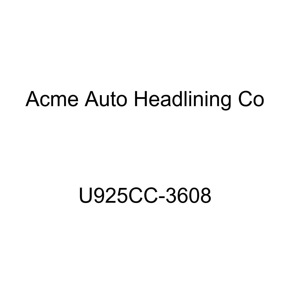 Acme U925CC-3608 Front and Rear Light Blue Vinyl Bench Seat Upholstery