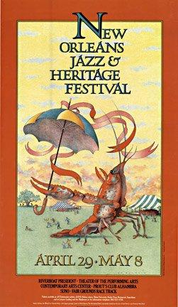 New Orleans Jazz & Heritage Festival Music Poser (Heritage Festivals Music)