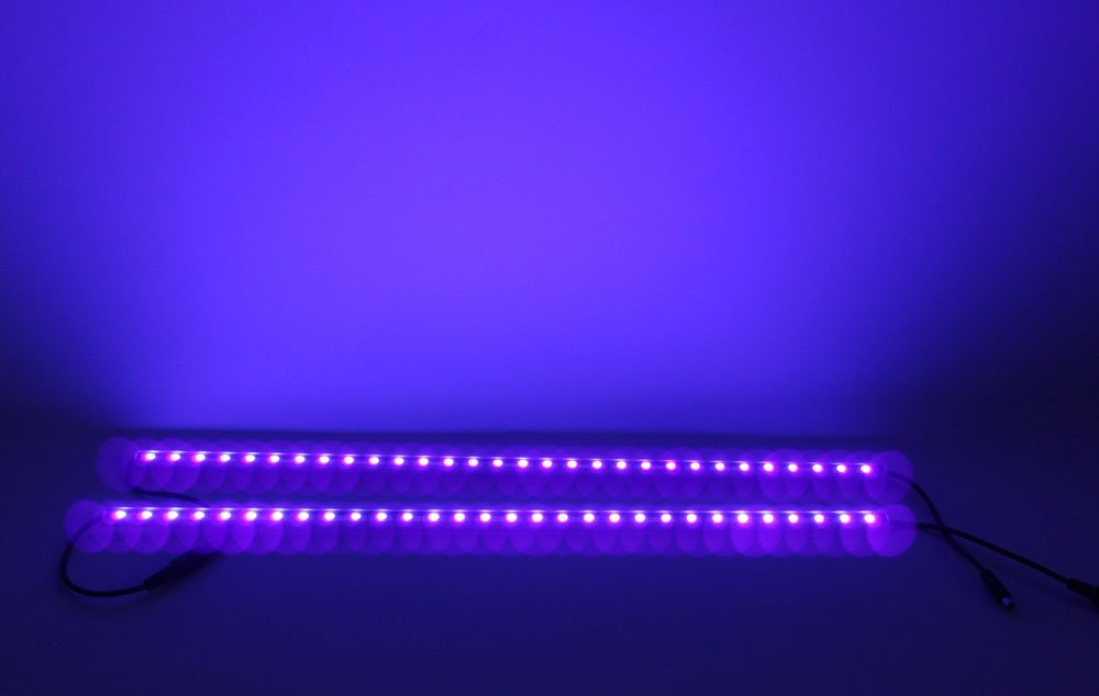 Genssi led purple light tube 50cm strip uv wall washer pack of 2 genssi led purple light tube 50cm strip uv wall washer pack of 2 amazon aloadofball Image collections