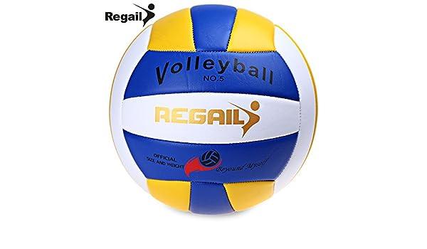 Ndier Regail - Balón de Balonmano Oficial (Talla 5), Color Azul ...