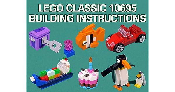 Amazon Watch Lego Classic 10695 Building Instructions Prime