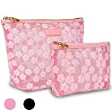 Zakaco Makeup Bags for Women,Cosmetic Bags Pouch for Purse,Makeup Pouch Set for Women (Pink)
