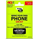 "Straight Talk - Bring Your Own Phone ""CDMA"" 3-in-1 Sim Card Kit (4G LTE) - ""Verizon"" Compatible"