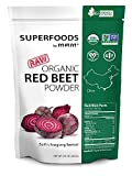 MRM - RAW USDA Organic Red Beet Powder Superfood, Certified Vegan and Non-GMO (8.5 Ounce)