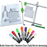 Generation Green G2 Glass Bottle Cutter with a Free Greencrafts Wet Chalk Pen Random Color