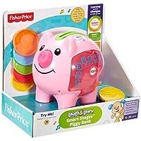 Fisher-Price Laugh & Learn Etapas de Smart Piggy Banco, Rosado