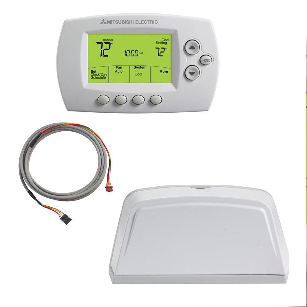 Amazon.com: Wireless Remote Controller and Reciever Kit - MHK1 - Thermostat  for Mr. Slim Units: Home & Kitchen