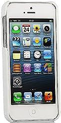 StilGut, couverture arrière en cuir véritable pour l'iPhone 5, 5s & iPhone SE d'Apple, blanc