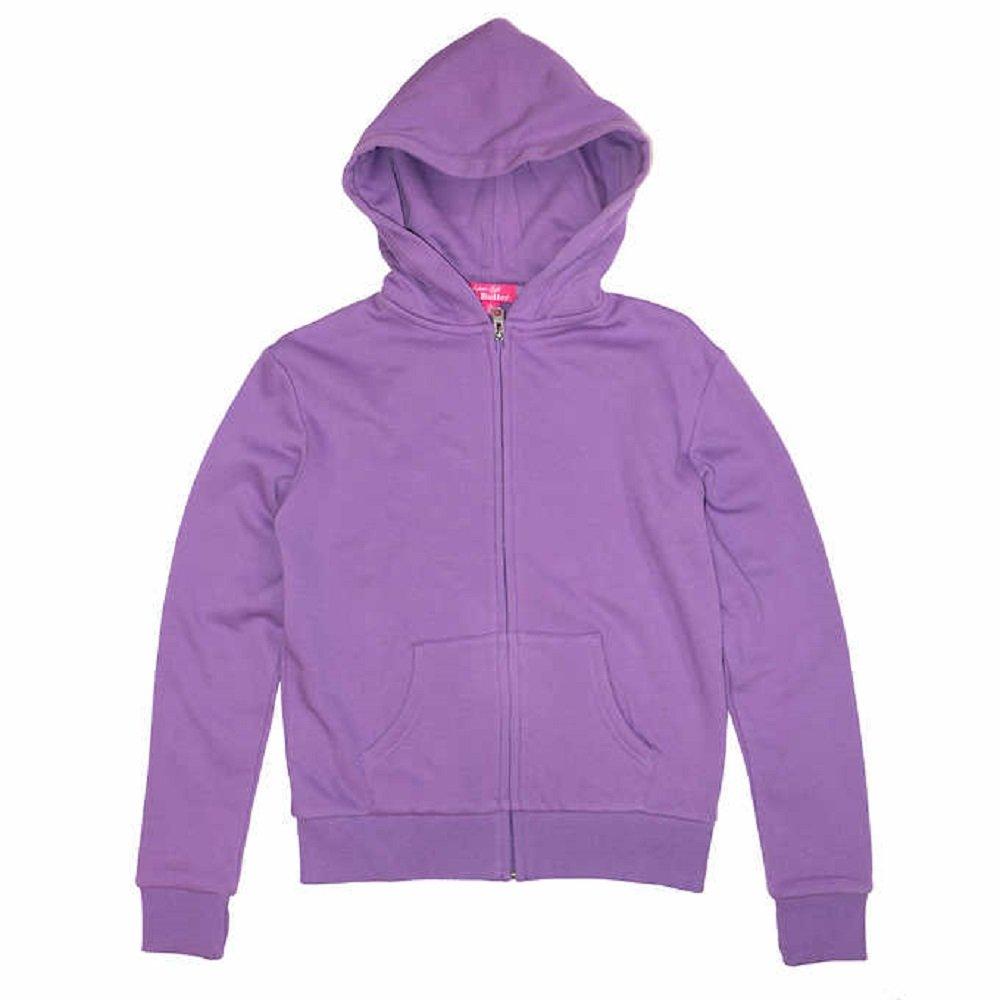 Butter Girls Super Soft Fleece 2-Piece Set Purple, X-Small 3//4 Bling