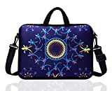 TAIDY 12.5-Inch Laptop Shoulder Bag Sleeve Case with Handle for 11.6' 12' 12.2' 12.5' Netbook/MacBook Air Pro (Classic Blue)