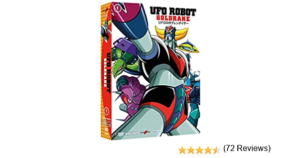 Ufo Robot Goldrake #01 (7 Dvd) [Italia]: Amazon.es: Tomoharu Katsumata: Cine y Series TV