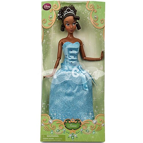 Deluxe Sparkle Tiana Princess Costumes (Disney Tiana Classic Doll - 12'')