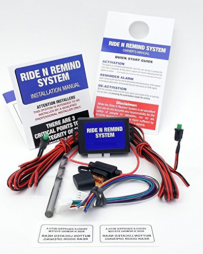 Ride N Remind - Back Seat Reminder System - Professional installation req.