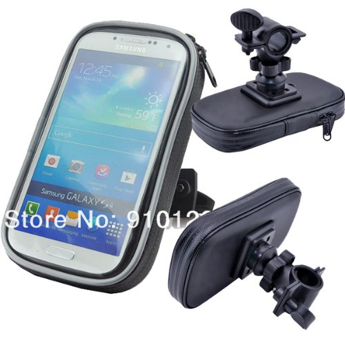 Motorcycle or Bike Handlebar Mount for ZTE Concord 2. Keeps your phone safe and secure when out on the road. Water resistant. (Concord Telephone)
