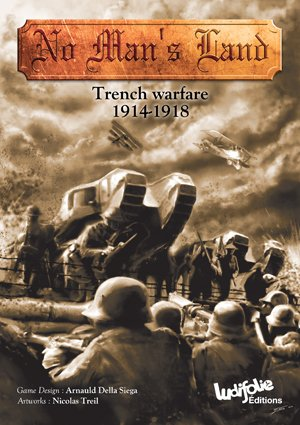 Ludiofolie Editions (France) LUD: No Man's Land, Trench Warfare 1914-1918, Board Game