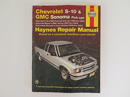 Amazon seller profile bashful yak llc haynes chevrolet s 10 and gmc sonoma pick ups 94 01 manu sciox Image collections