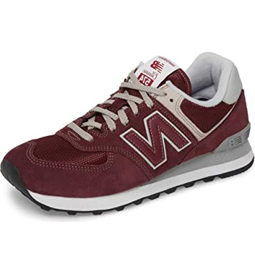 New Balance Schuhe Bordeaux